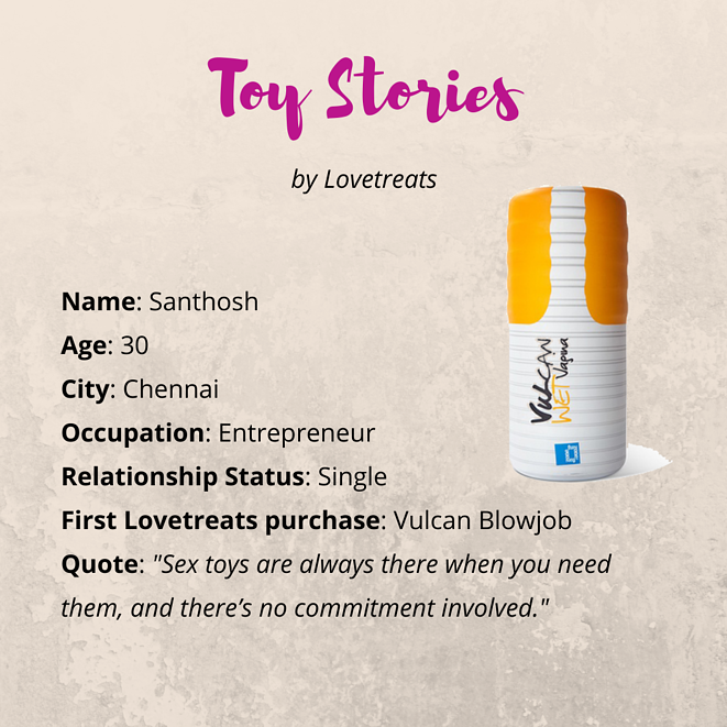 Lovetreats Toy Stories - Santhosh's story