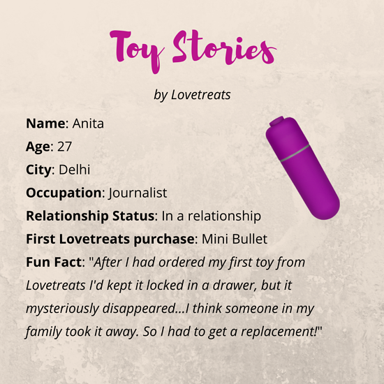 Lovetreats Sex Toy Stories Anita's Story